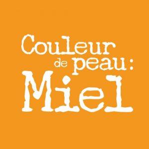 """Logo de """"Couleur de peau : Miel"""""""