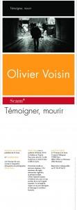 Carton de l'exposition rétrospective du photographe Olivier Voisin
