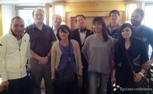 Photo de groupe du déjeuner mensuel parisien de RC - Aout 2013