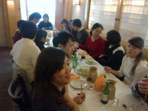 Photo du déjeuner mensuel parisien de Racines coréennes de février 2014 7