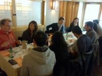 Photo du déjeuner mensuel parisien de Racines coréennes de février 2014 5