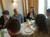 Photo du déjeuner mensuel parisien de Racines coréennes de février 2014 4