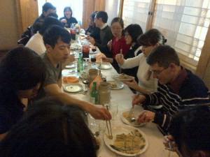 Photo du déjeuner mensuel parisien de Racines coréennes de février 2014 3