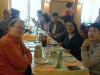 Photo du déjeuner mensuel parisien de Racines coréennes de février 2014 2
