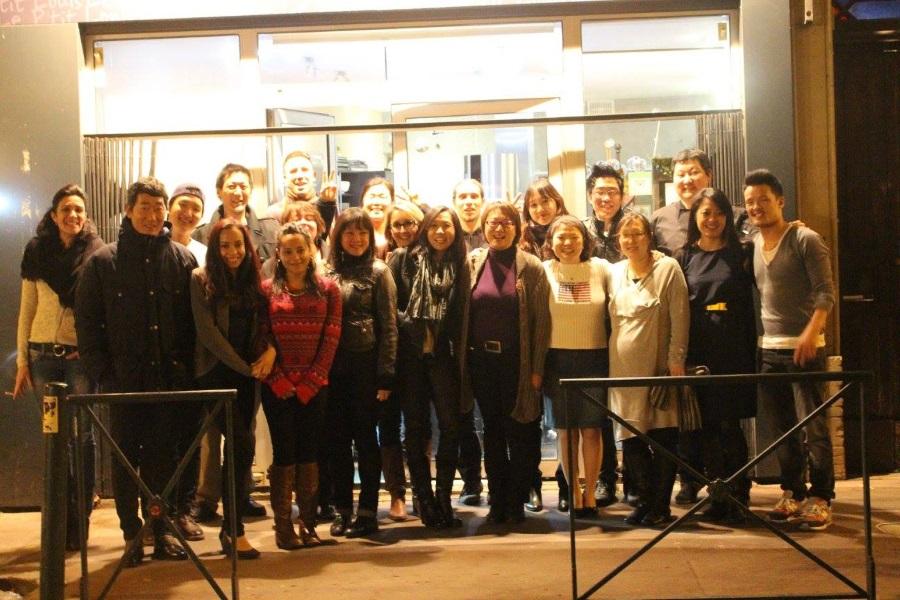Photo de groupe du Seollal 2015 de Racines coréennes à Toulouse