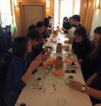 Photo du déjeuner mensuel parisien de Racines coréennes de février 2015 3