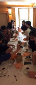 Photo du déjeuner mensuel parisien de Racines coréennes de février 2015 5