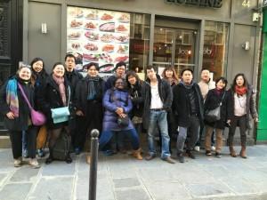 Photo du déjeuner mensuel parisien de Racines coréennes de février 2015 7