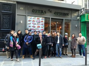 Photo du déjeuner mensuel parisien de Racines coréennes de février 2015 8