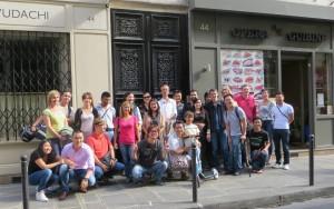 Photo via Laetitia (via la main de Yann) du déjeuner mensuel parisien de Racines coréennes de septembre 2014 1