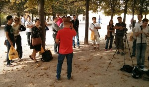 Making off du teaser des #20ansRC - Photo par Antoine