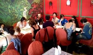 Photo du déjeuner parisien de la mi-été de Racines coréennes juillet 2014 1