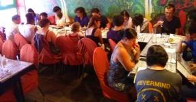 Photo du déjeuner parisien de la mi-été de Racines coréennes juillet 2014 4