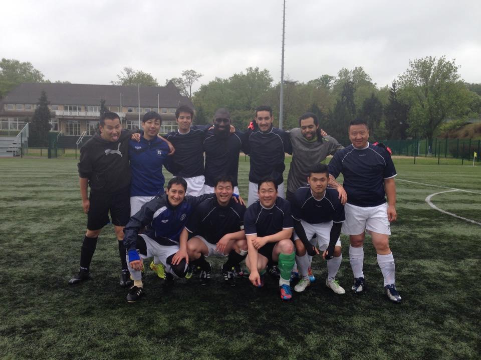Photo de l'équipe de football Racines Coréennes de 2015