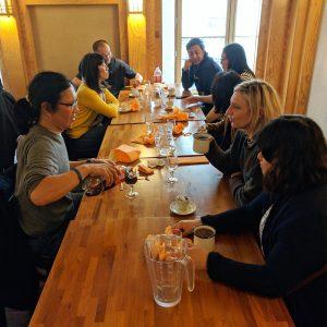 Déjeuner mensuel d'avril 2019 - Table n°2