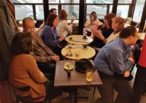 Déjeuner mensuel d'avril 2019 - Au bar 1