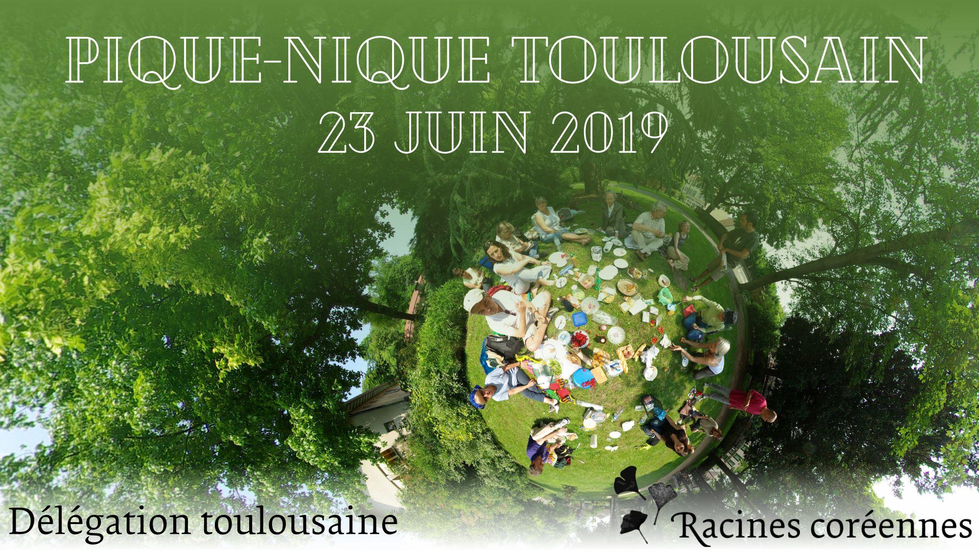 Pique-nique de juin 2019 à Toulouse
