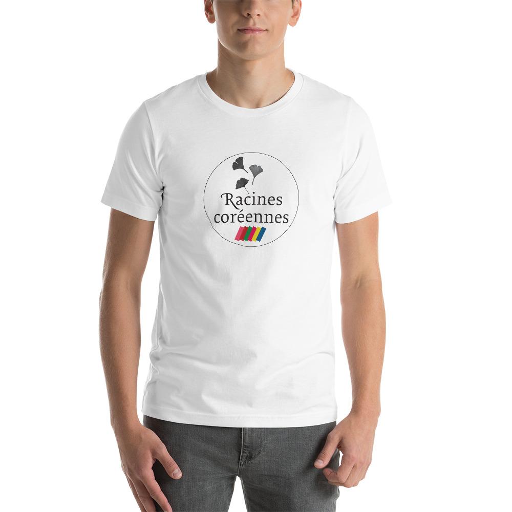 T-shirt Unisexe à Manches Courtes – Vintage Logo Racines Coréennes