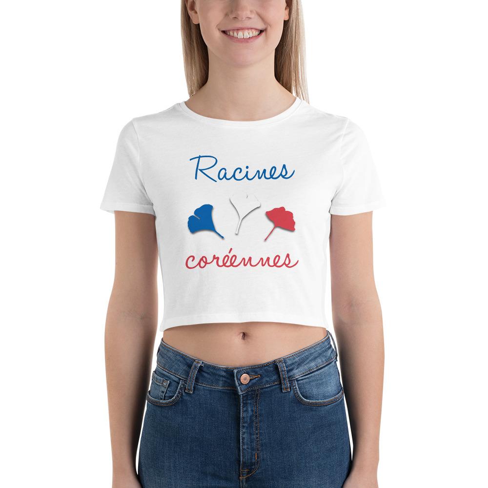 T-shirt Crop-Top pour Femme – Racines Coréennes