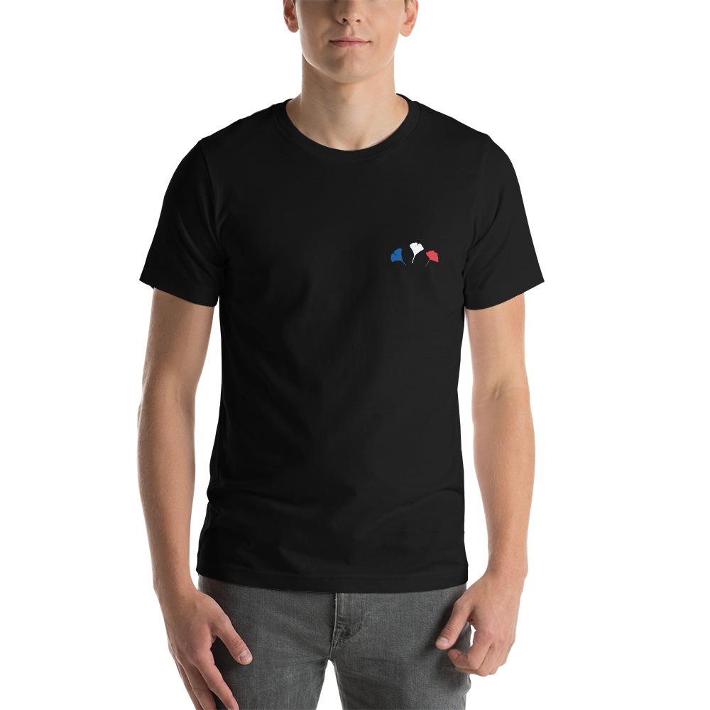 T-shirt Unisexe à Manches Courtes – RC Fleurs