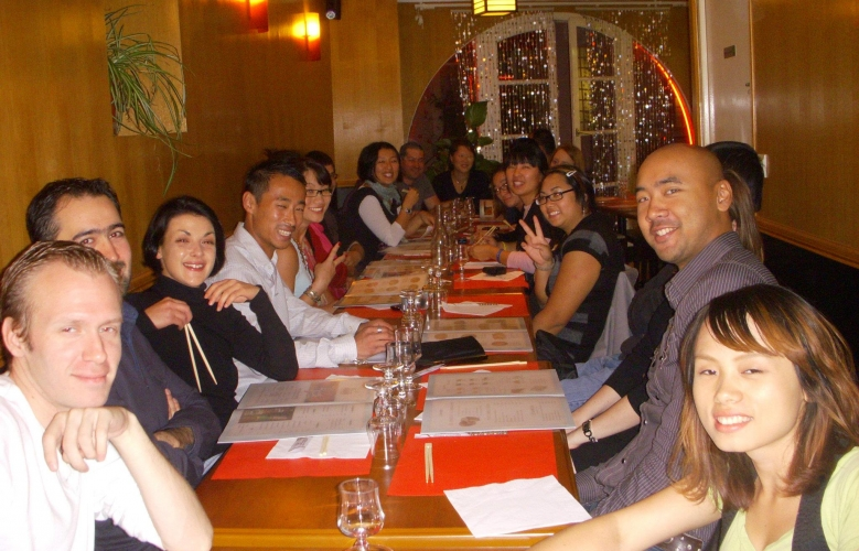 Photos du diner du 8 octobre à Nantes !