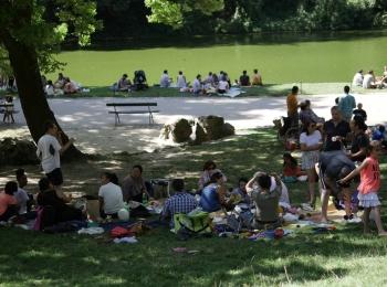 Photos du pique-nique de rentrée de Racines coréennes à Paris