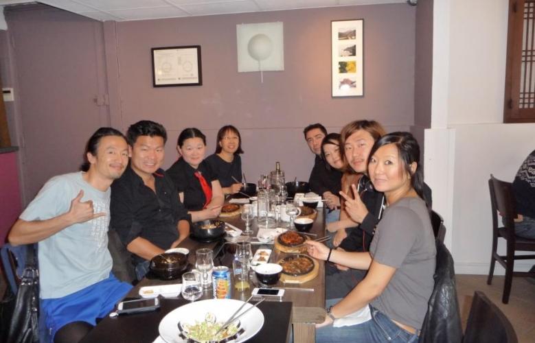 Photos du déjeuner de rentrée à Lyon, le Samedi 20 oct 2012