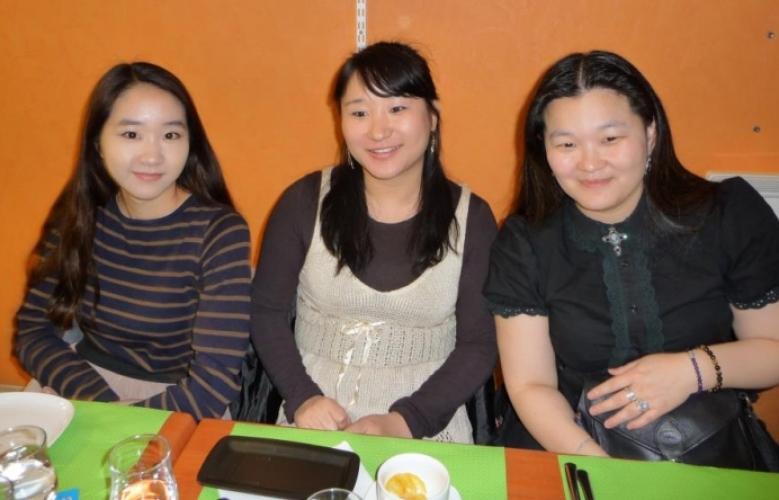 Photos du dîner à Lyon, le samedi 15 décembre 2012