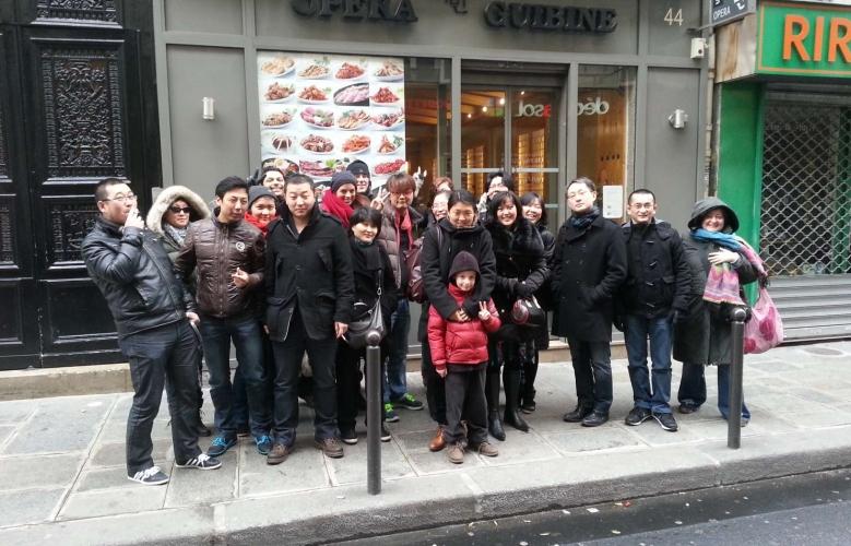 Déjeuner mensuel parisien de février '13
