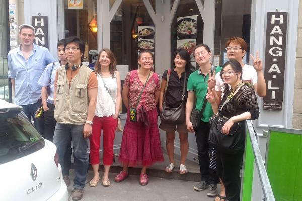 Déjeuner Racines coréennes à Paris de juillet '13