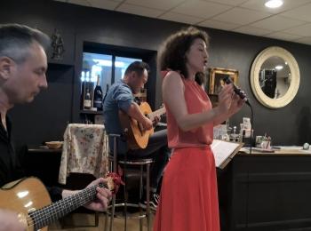 Dîner / concert à Chaponost – 25 Avril 2019