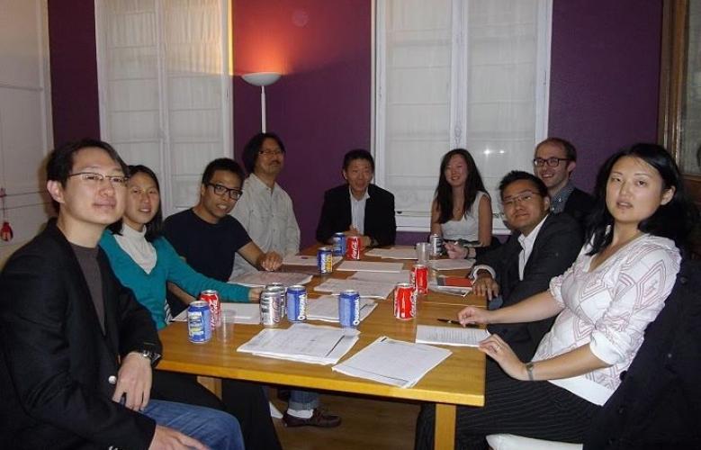 Photo de groupe : Session 1 – Groupe A