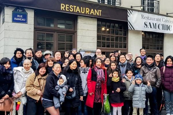 Déjeuner mensuel à Paris – 23 Février 2020