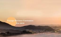 Voyage en Corée en juillet/août 2019 avec Racines Coréennes, BAK et Corée Voyage