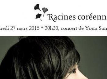 Concert Youn Sun Nah 27 mars 2015 – offre Racines coréennes
