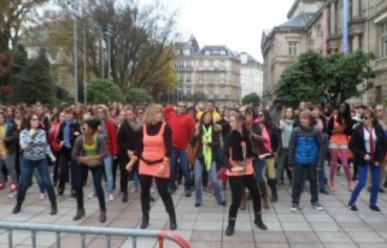 Retour sur la Flashmob Gangnam Style à Rouen du 17 Novembre 2012