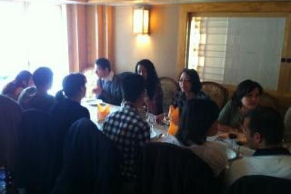Déjeuner du mois de mars 2012 !