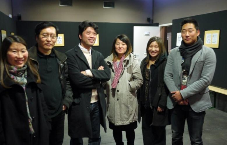 Rencontre avec Jung et les adoptés coréens du Nord et Belgique