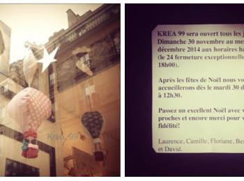 Idées cadeaux : Krea99, Paris