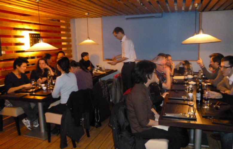 Photos du diner du 27 janvier 2012 à Toulouse !