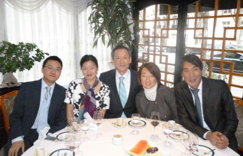 Rencontre avec l'Ambassadeur de la République de Corée