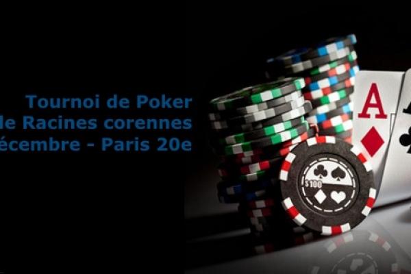 Tournoi de poker – Vendredi 19 décembre 2014 – Paris 20e