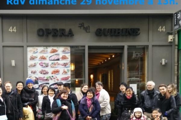 Annulation du déjeuner mensuel parisien d'octobre 2015