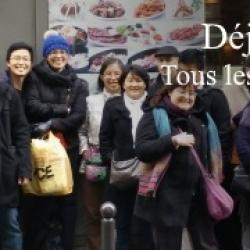Déjeuner mensuel parisien d'octobre 2018