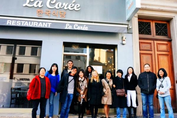 Déjeuner à Lyon – samedi 8 mars 2014