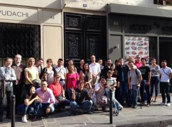 Photos du déjeuner mensuel parisien de septembre 2014