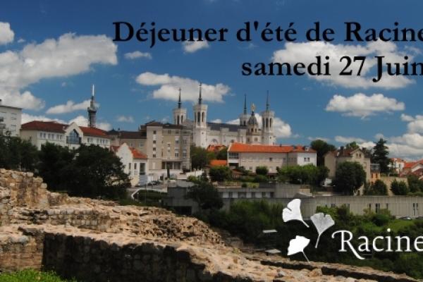 Déjeuner de début d'été à Lyon – 27 Juin 2015