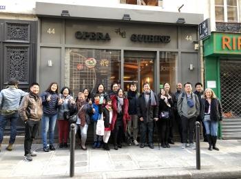 Déjeuner mensuel à Paris – Novembre 2020