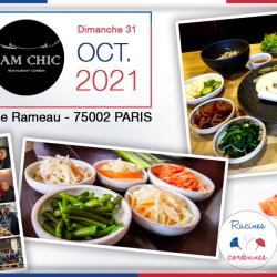 Déjeuner mensuel parisien au Samchic – 31 Octobre 2021 à midi