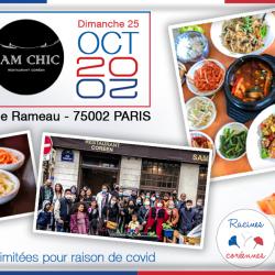 Déjeuner mensuel parisien – Octobre 2020
